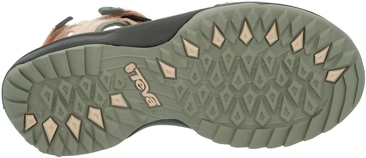 08397ab10fd Teva Terra Fi Lite Sandaler Damer grå/orange | Find outdoortøj, sko ...